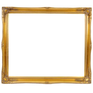 Swept frame 816 in gold