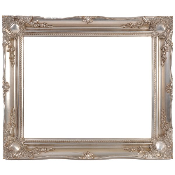 Swept frame 829 in silver