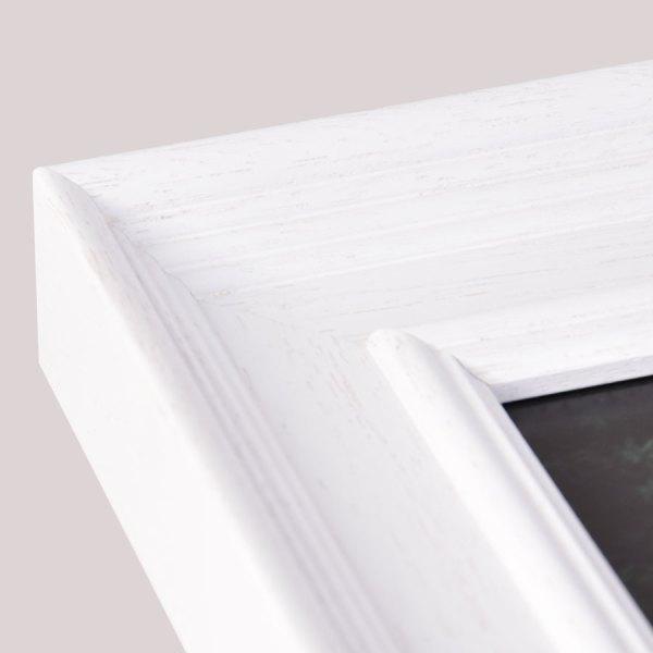 Fallon 50 White frame corner