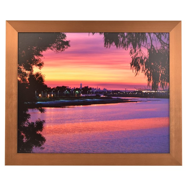 Freestyle copper picture frame without mount
