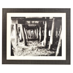 Freestyle gunmetal picture frame with mount