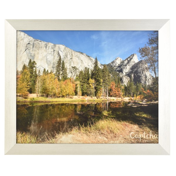 Freestyle silver picture frame without mount