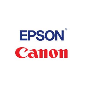 Epson and Canon inkjet cartridges