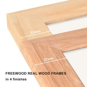 Freewood Real Wood Frames
