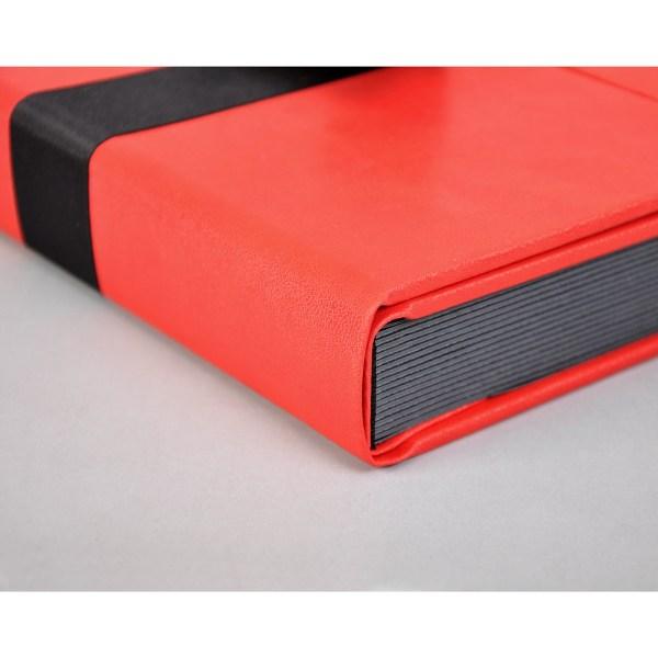 Sara Ribbons red album corner