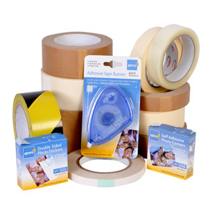 Adhesive tapes and stickers