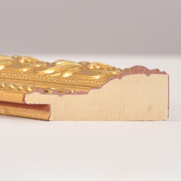 Florentina Traditional 40mm ornate gold frame
