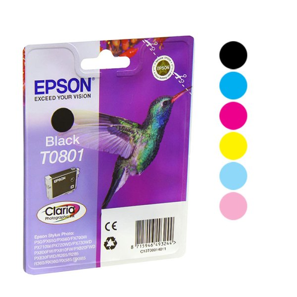 Epson T0801 Ink Cartridge