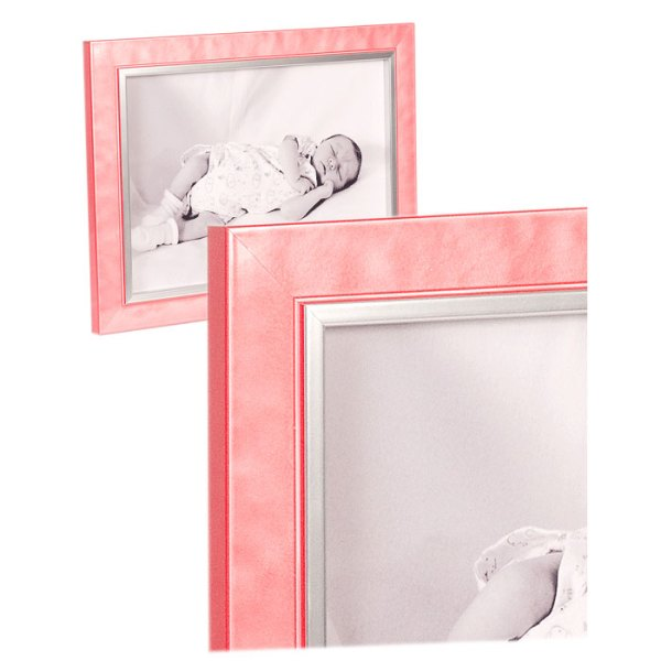 Felicia Pastel Pink High Gloss frame
