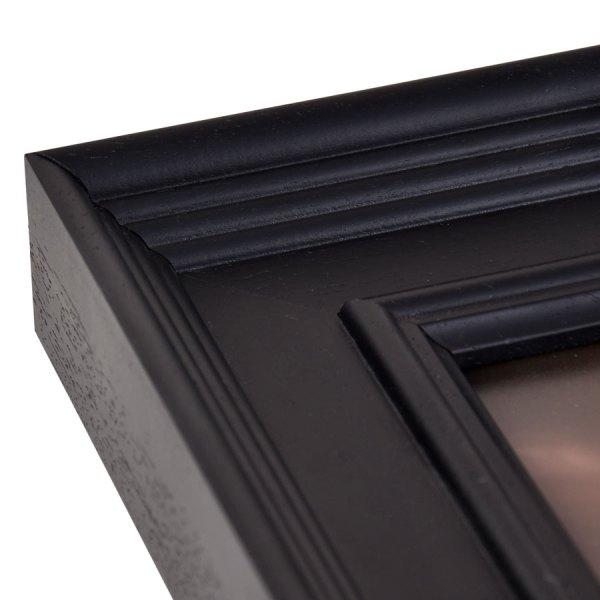 Fallon 50 Black frame corner