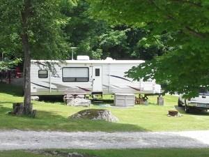 VT summer camping