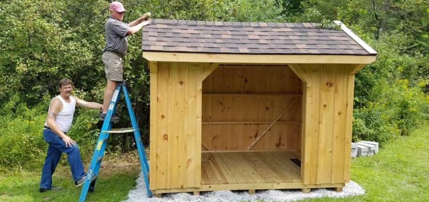NEW! Lean-To Lodging