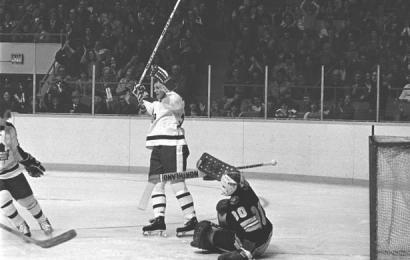 7. února 1976, Darryl Sittler si připsal 10 bodů v zápase proti Bruins