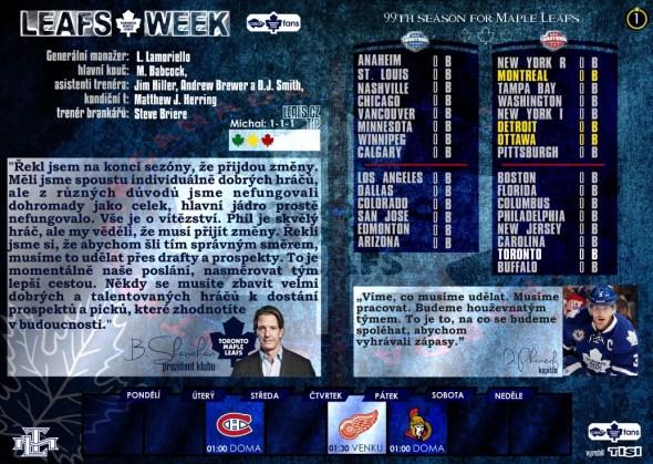 2015-16 Leafs Week 1