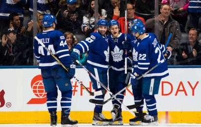 Střelecká exploze a perfektní výkon Leafs proti Islanders