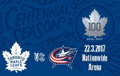 Leafs čekají dva zápasy v řadě, dnes večer na ledě Columbusu