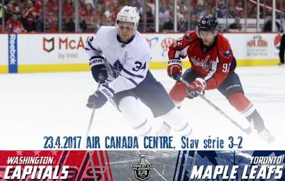 Maple Leafs čelí vyřazení, hraje se zápas číslo šest