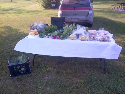 August 2nd Market Stand