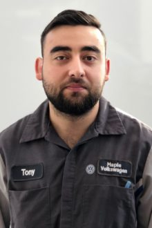 Tony A - Technician Apprentice