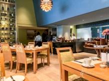 Mint restaurant during breakfast hours
