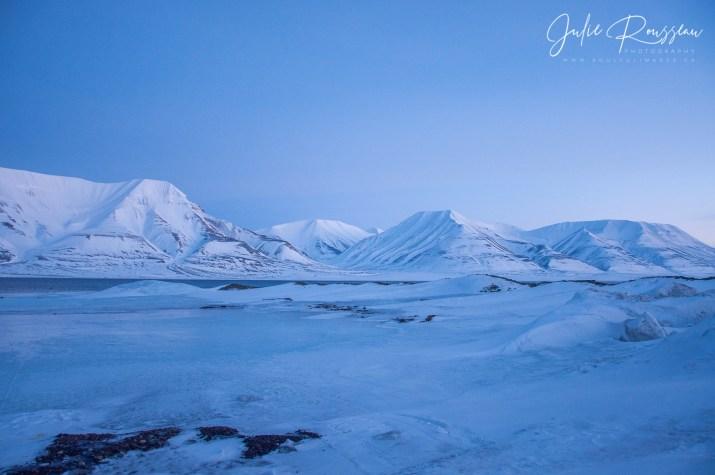 The coast of Longyearbyen