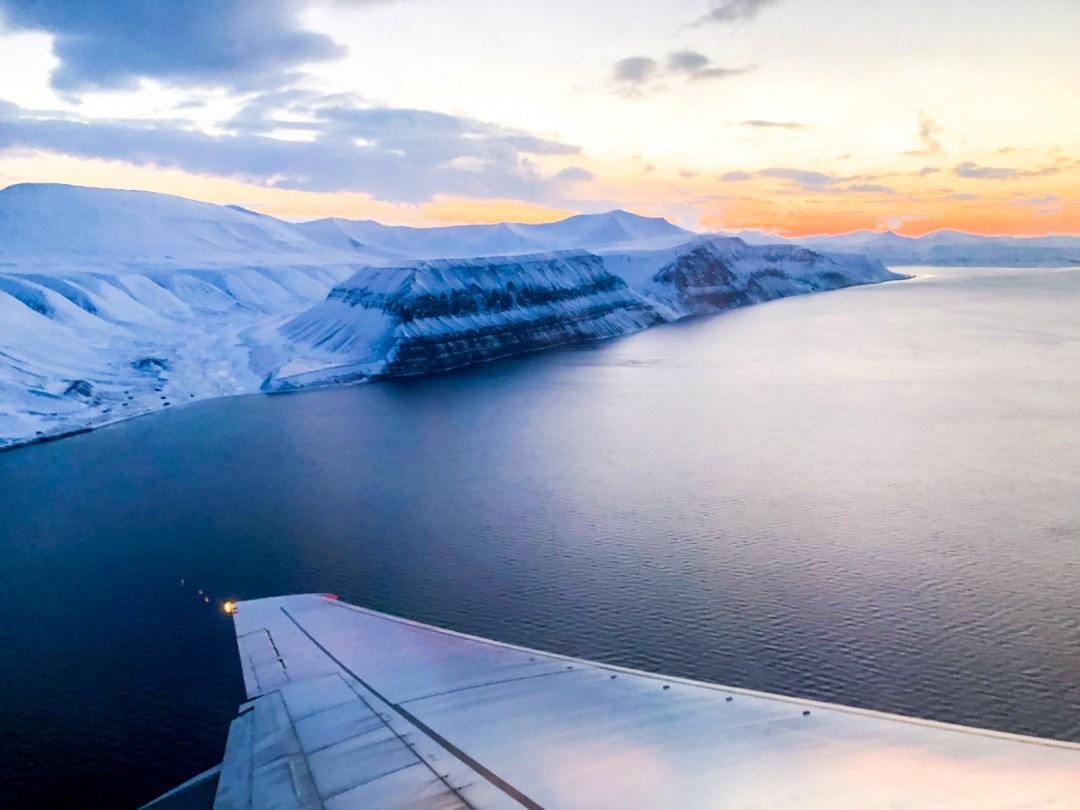 Polar night in Svalbard