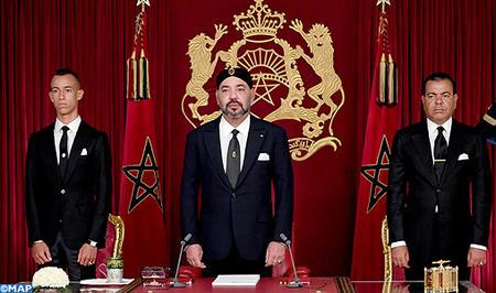 SM le Roi adresse un Discours à la Nation à l'occasion de la fête du Trône