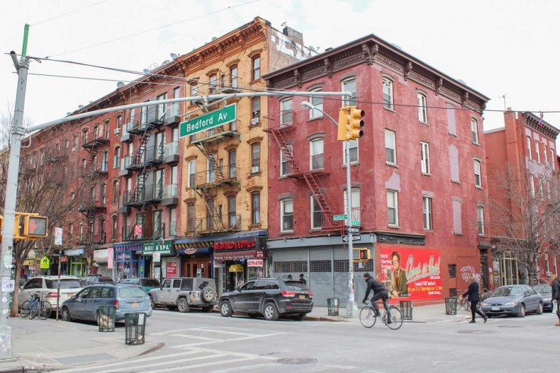 Williamsburg, Manhattan, favoriete buurt New York - Map of Joy