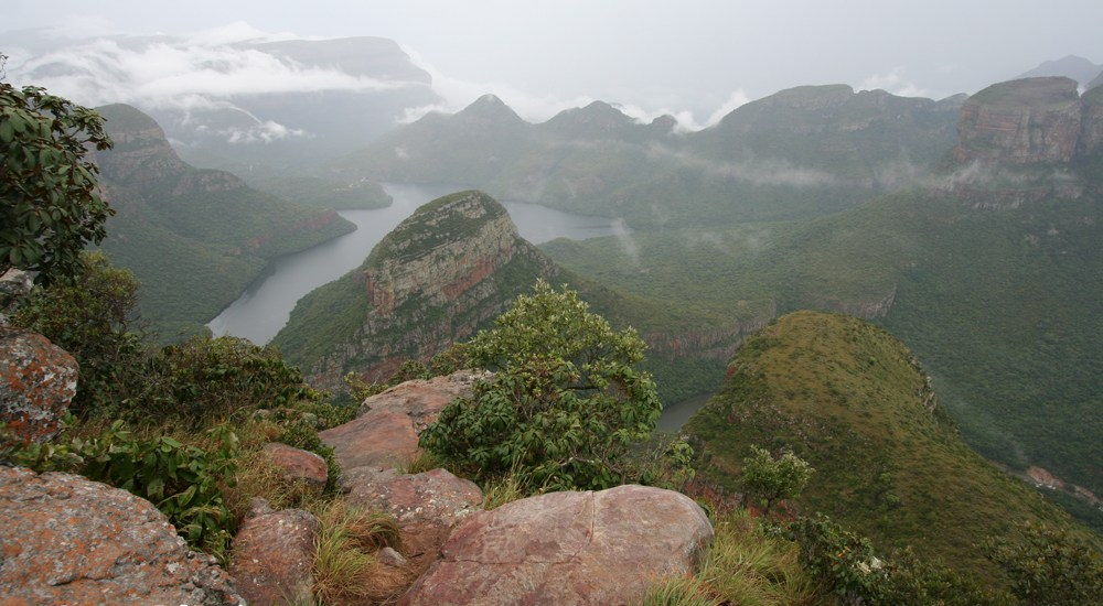 Drakensbergen, South Africa, travel report - Map of Joy