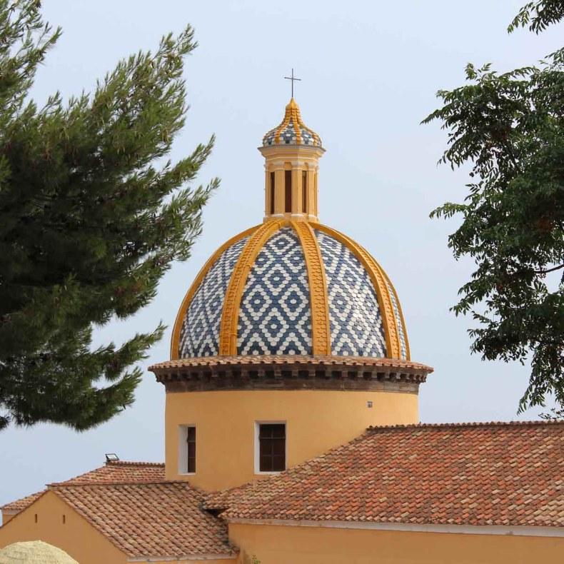 Chiesa di Santa Maria Assunta kerk, Positano, Amalfikust route roadtrip - Map of Joy