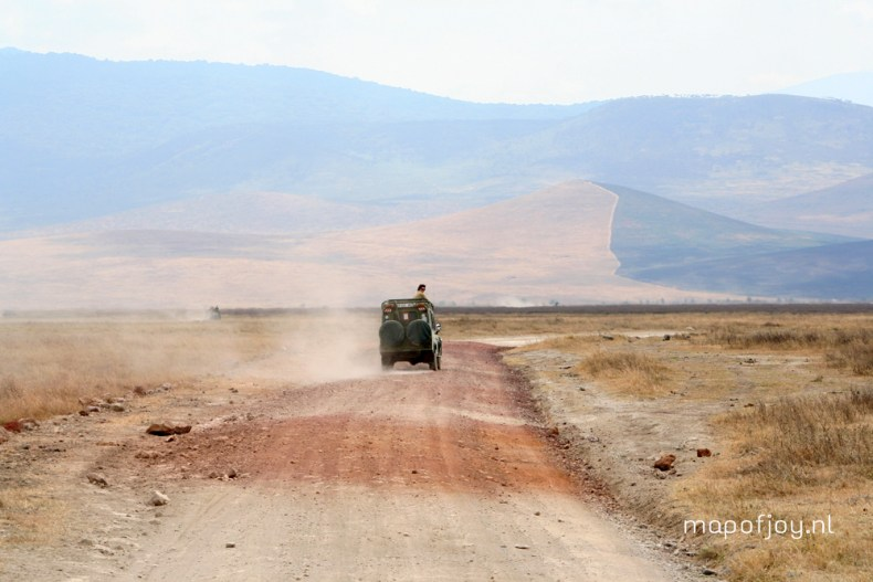 Ngorongoro crater, Tanzania, travel report - Map of Joy