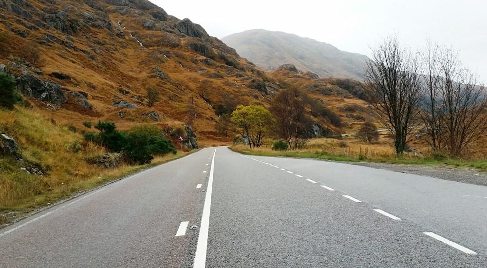 road trip Highlands of Scotland - Map of Joy