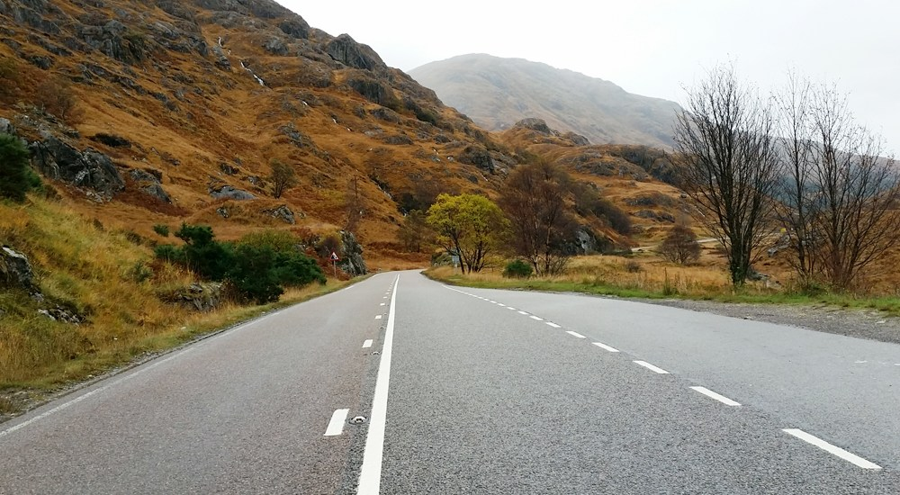 road trip Highlands of Scotland - Map of Joy