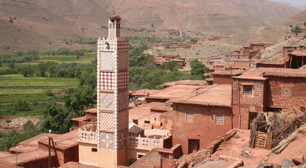 Ouarzazate, Marokko, travel report - Map of Joy