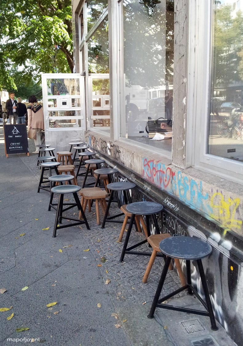 The Barn, Berlin, coffee hotspot - Map of Joy
