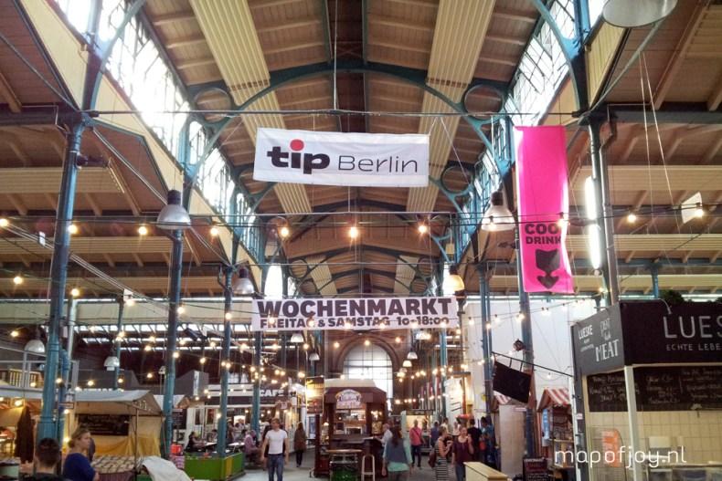 Markthalle Neun, leuke food markt Berlijn - Map of Joy