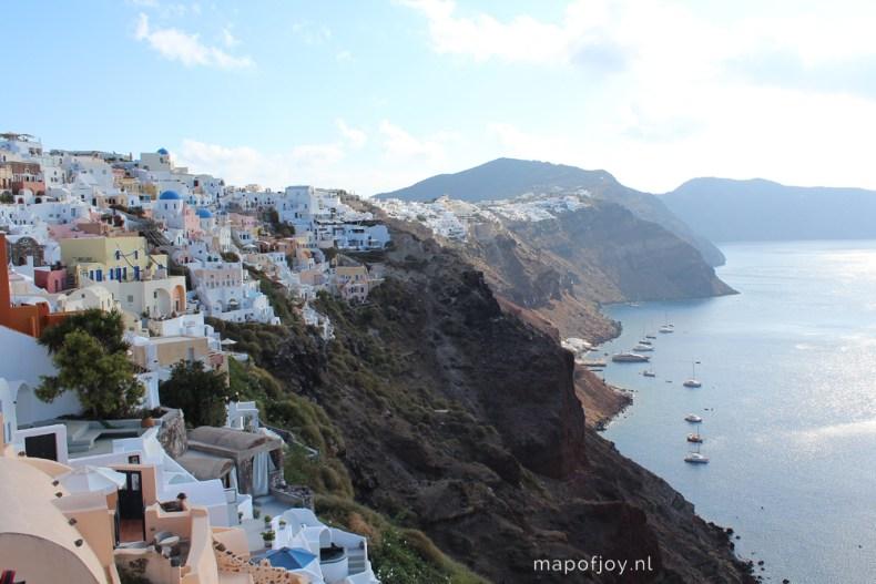 Oia, Santorini, Greece - Map of Joy