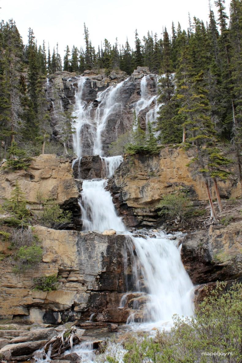 Tangle Creek Falls, Alberta, Canada - Map of Joy