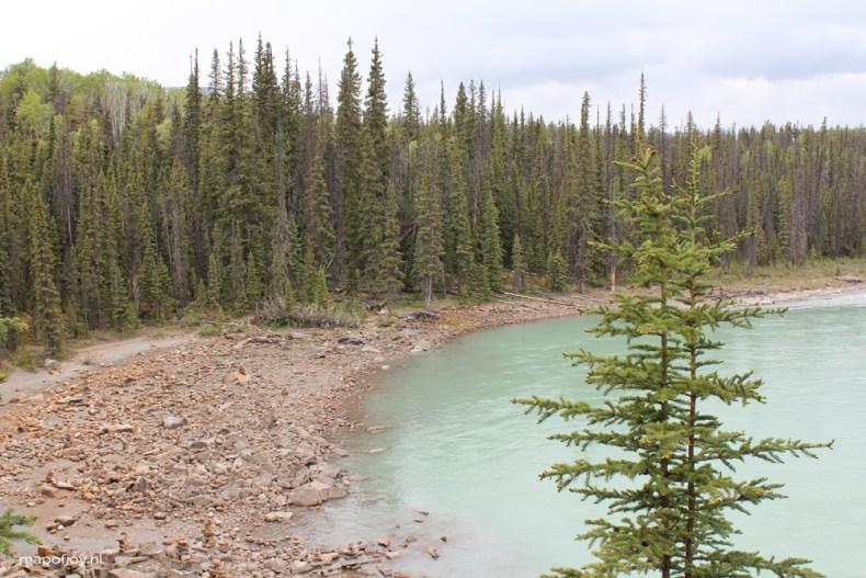 Athabasca Falls, Jasper NP, Alberta, Canada - travel report by Map of Joy