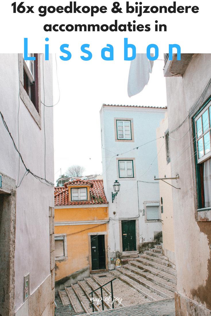 16x goedkoop en bijzonder slapen in Lissabon - Map of Joy
