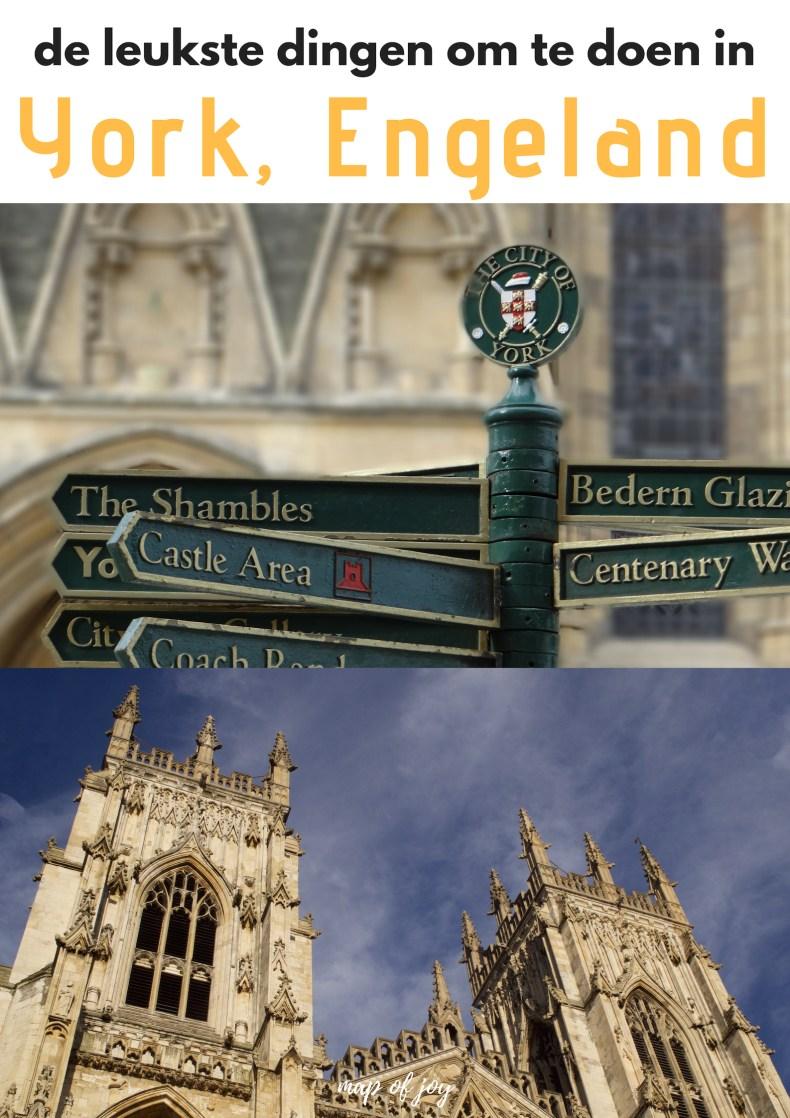 De leukste dingen om te doen in York, Engeland - Map of Joy