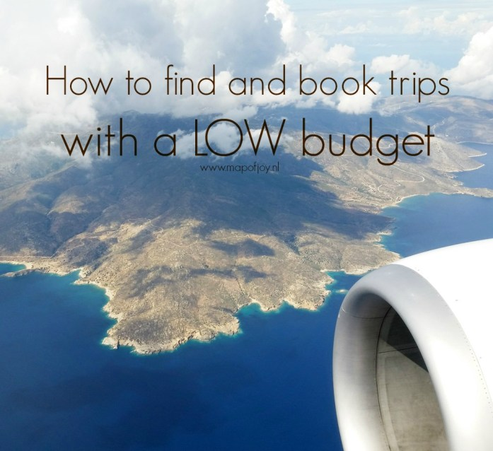 How to find and book trips with a low budget - Map of Joy