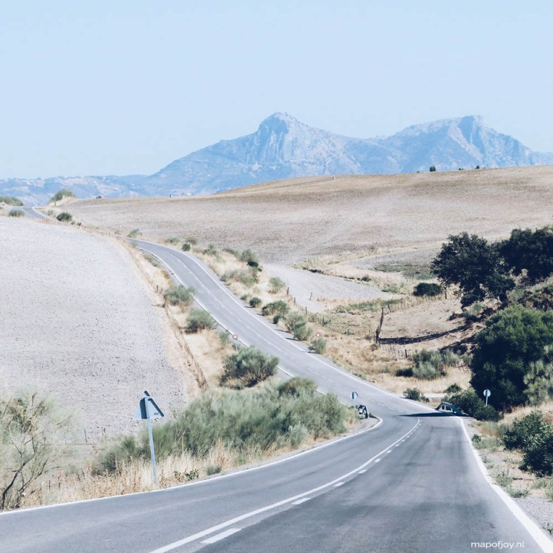 Roadtrip Andalusia, Spain - Map of Joy