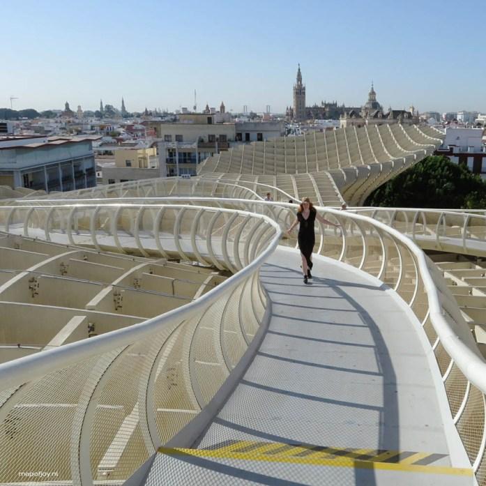Metropol Parasol, Sevilla _ Map of Joy