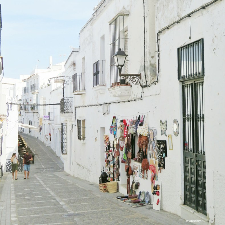 Vejer de la Frontera, Andalusia, Spain - Map of Joy