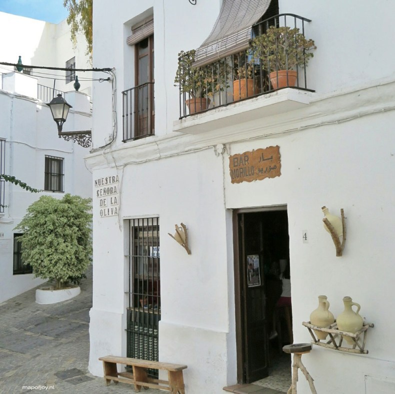 Vejer de la Frontera, Andalusia, Spain - Map of Joy