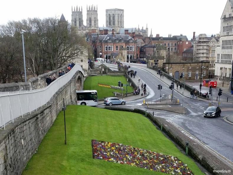 York, city walls - Map of Joy