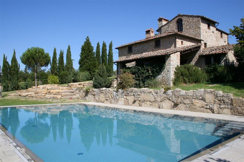 Luxe vakantiehuis Borratella Toscane - Map of Joy