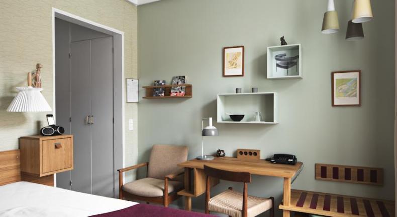 Hotel Alexandra, goedkoop en leuk hotel Kopenhagen - Map of Joy