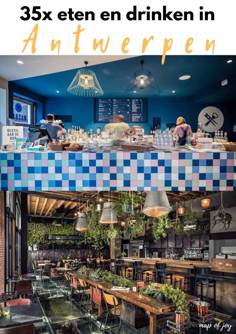 35x eten en drinken in Antwerpen - Map of Joy